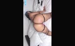 Ebony bbw ass drilled by big cock