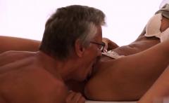 Old guy fucks hard Finally she's got her boss dick
