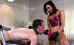 Hot pornstar bondage and cumshot