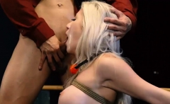 Shy Teen Gives In And Two Amateur Big-breasted Blond Ultra-c