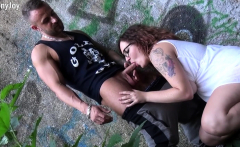 MyDirtyHobby - Let's fuck under the bridge!