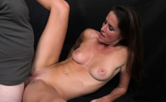 Hot Milf Sofia Marie Takes Cumshot Facial