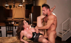 Brotherly betrayal and rough fuck with a busty stepsis