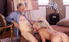 OLD4K. Handsome old dad satisfies winsome mistress in...