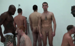 Gay Soldiers Get Together To Have Gay Orgy In The Showers