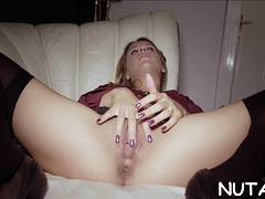 Lady Is Sextoy Her Perfectly Juice Cave