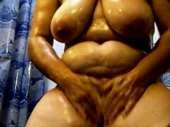Mature Solo Shower
