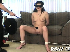 Vigorous Cutie Is Fucking Huge Sex Toy On Her Chair