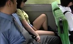 Japanese couple handjob cumshot 5