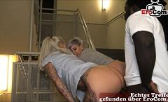 german amateur public threesome ffm teens with bbc
