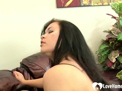 Asian Babe Gets Pounded In Hardcore Fashion