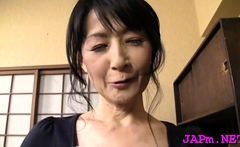 Stunning older porn act with a charming japanese babe