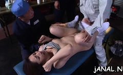 Gal on fire wants cock in the ass after such asian oral job