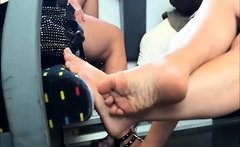 Foot Slaves Service Their Hot Foot Fetish Lovers