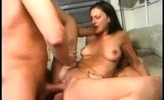 Angela White Anal DP Gangbang Double Penetration