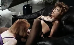 Mature stockings lesbian fingering and sucking pussy