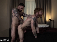 Bennett Anthony With Jordan Levine At Inked Breeding