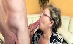 hairy bbw granny mom rough fucked
