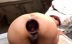 Anal fisting and extreme insertions amateur