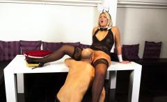 HITZEFREI Thick German blonde Tatjana Young gets fucked
