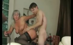 Unfaitful Cougar Wife in Action