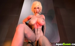 Curvy super hero babes get fucked raw and deeply