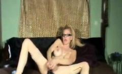 Hot Older Cougar Smoking and Diddling