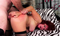 Sultry Mature Redhead Andi James Gets Passionately Drilled