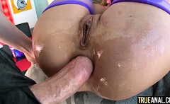 TRUE ANAL Riley Steele wants it deep in her ass
