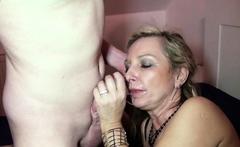 Monster Cock Son Seduce German Stepmom to Fuck when Alone