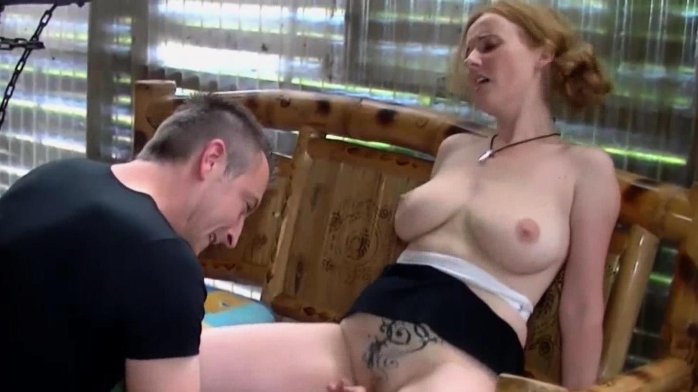 Redhead Cutie Nicole S Fucking In Threesome