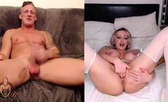 LUKE HARDY - Amber Jayne Webcam Cum