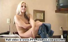 Lovely Teen gorgeous naked blonde